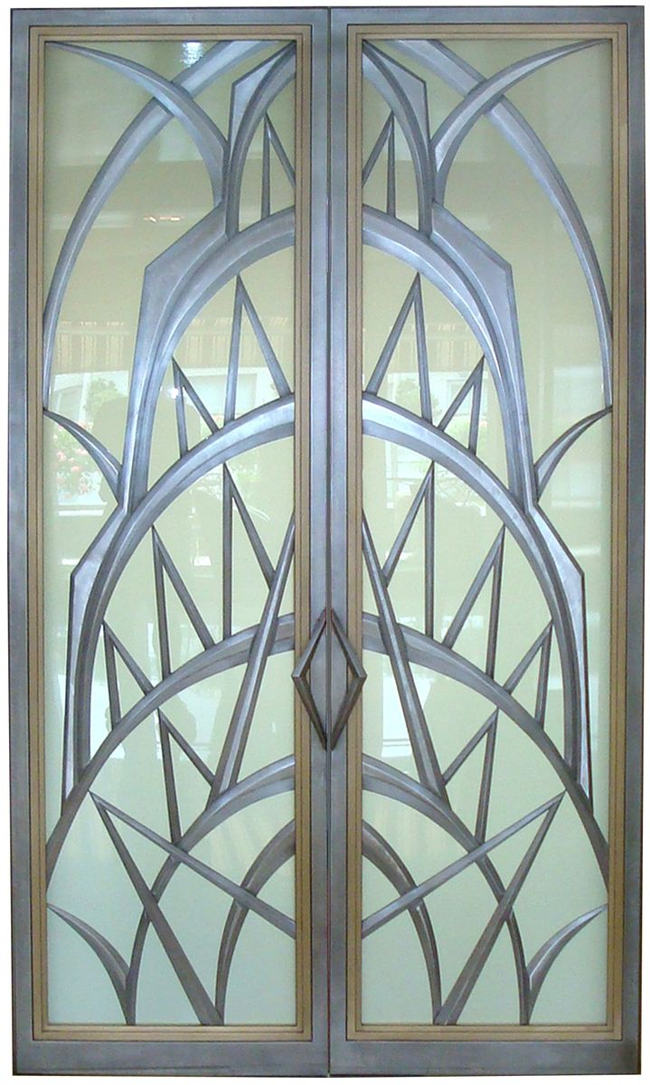 Le Meilleur Custom Made Art Deco Doors By Eric David Laxman Ce Mois Ci
