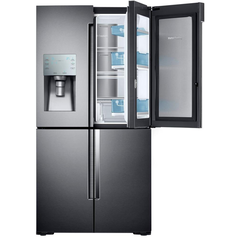 Le Meilleur Samsung 28 Cu Ft 4 Door Flex French Door Refrigerator In Ce Mois Ci