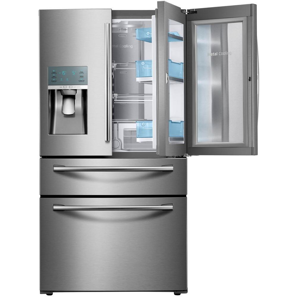 Le Meilleur Samsung 22 4 Cu Ft Food Showcase 4 Door French Door Ce Mois Ci