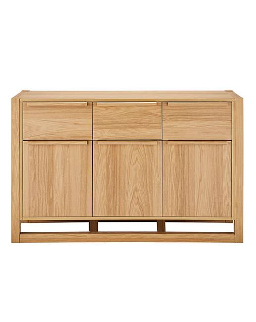 Le Meilleur Jasper 3 Door 3 Drawer Sideboard Fashion World Ce Mois Ci