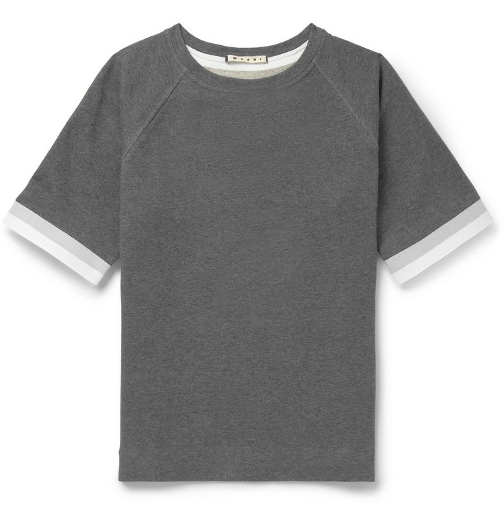 Le Meilleur Marni Loopback Cotton Blend Sleeveless Sweatshirt Mr Ce Mois Ci