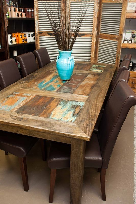 Le Meilleur Beautiful Monsoon Old Door Table The Name Says It All Ce Mois Ci