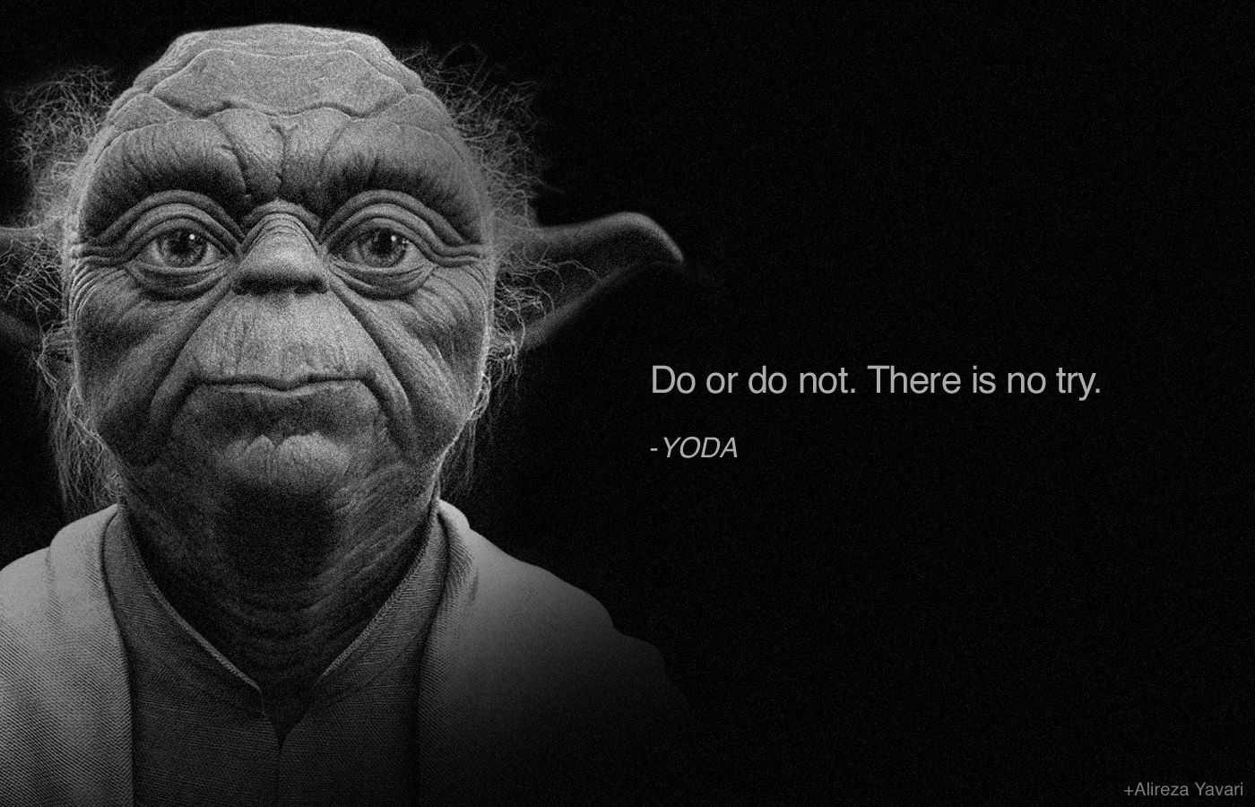 Le Meilleur Yoda Quote On Doing An Action Amazing Quotes Zitate Ce Mois Ci