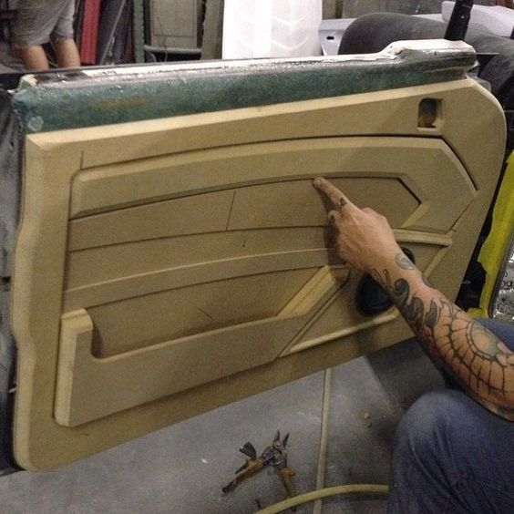 Le Meilleur Custom Door Panel Auto Body And More Custom Car Ce Mois Ci
