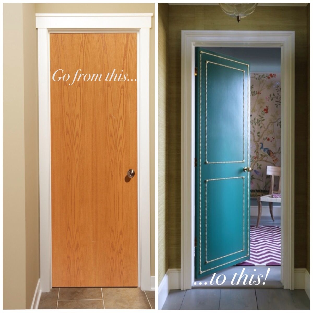 Le Meilleur Diy Do You Have Boring *Gly Flat Interior Doors Why Ce Mois Ci