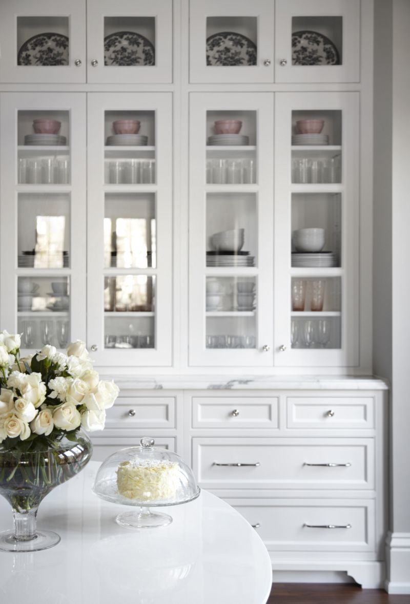 Le Meilleur Beautiful White Kitchen Inset Cabinets Glass Doors Marke Ce Mois Ci