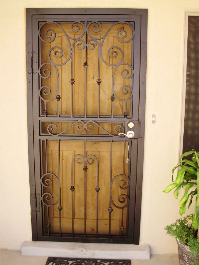 Le Meilleur Pictures Of Screened Entryway Security Screen Door Ce Mois Ci