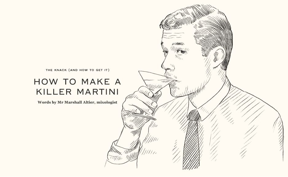 Le Meilleur How To Make A Killer Martini Cocktail The Knack The Ce Mois Ci