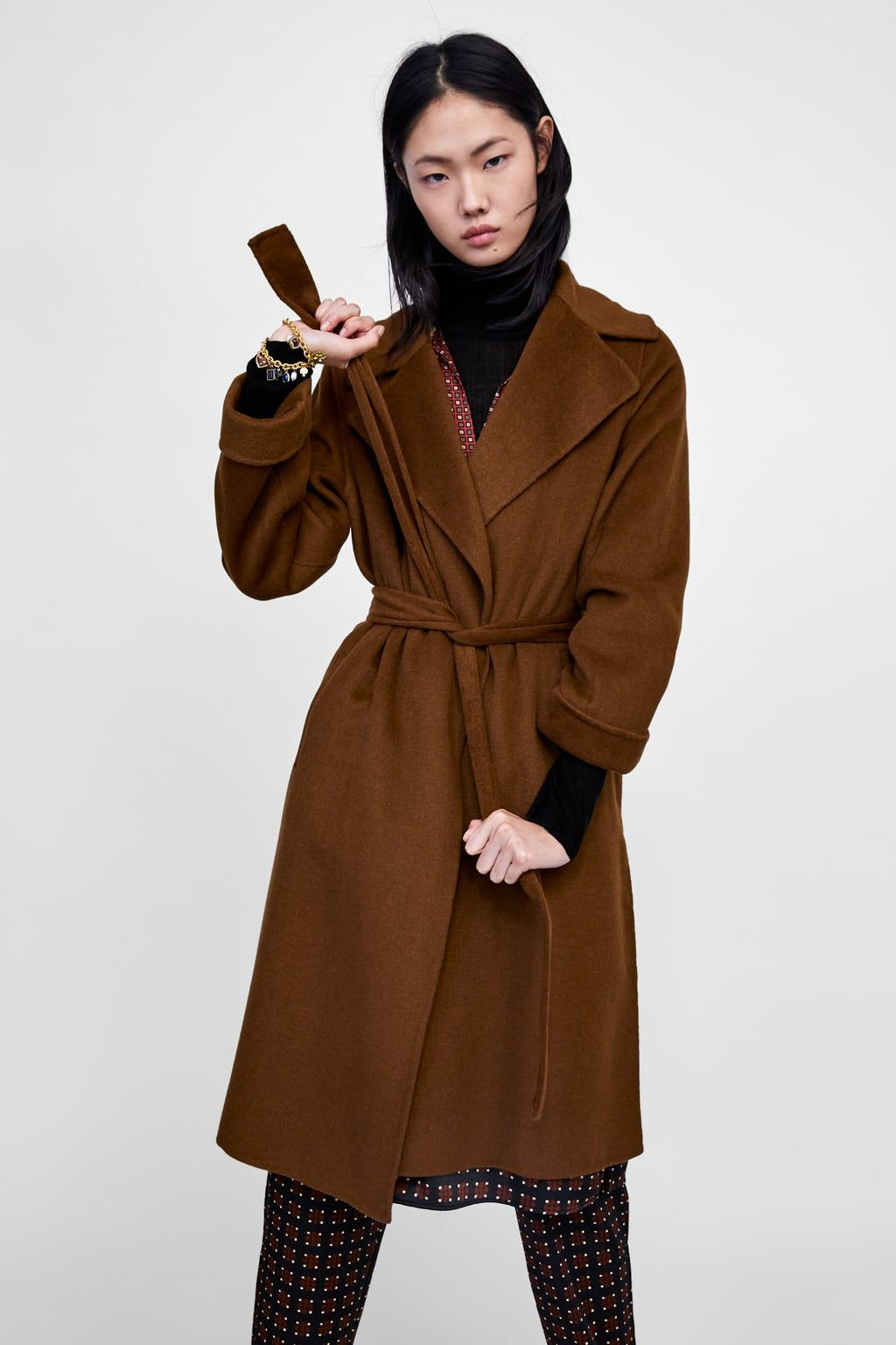 Le Meilleur Image 2 Of Long Coat From Zara The Work Edit Office Ce Mois Ci