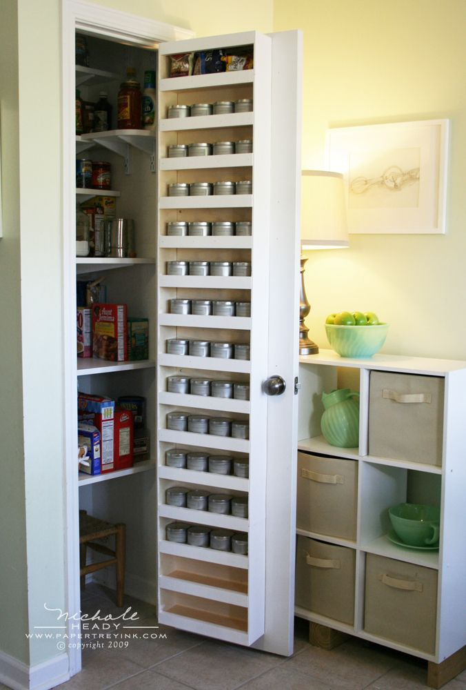 Le Meilleur Back Of Pantry Door Almost Too Much Extra Storage Space Ce Mois Ci
