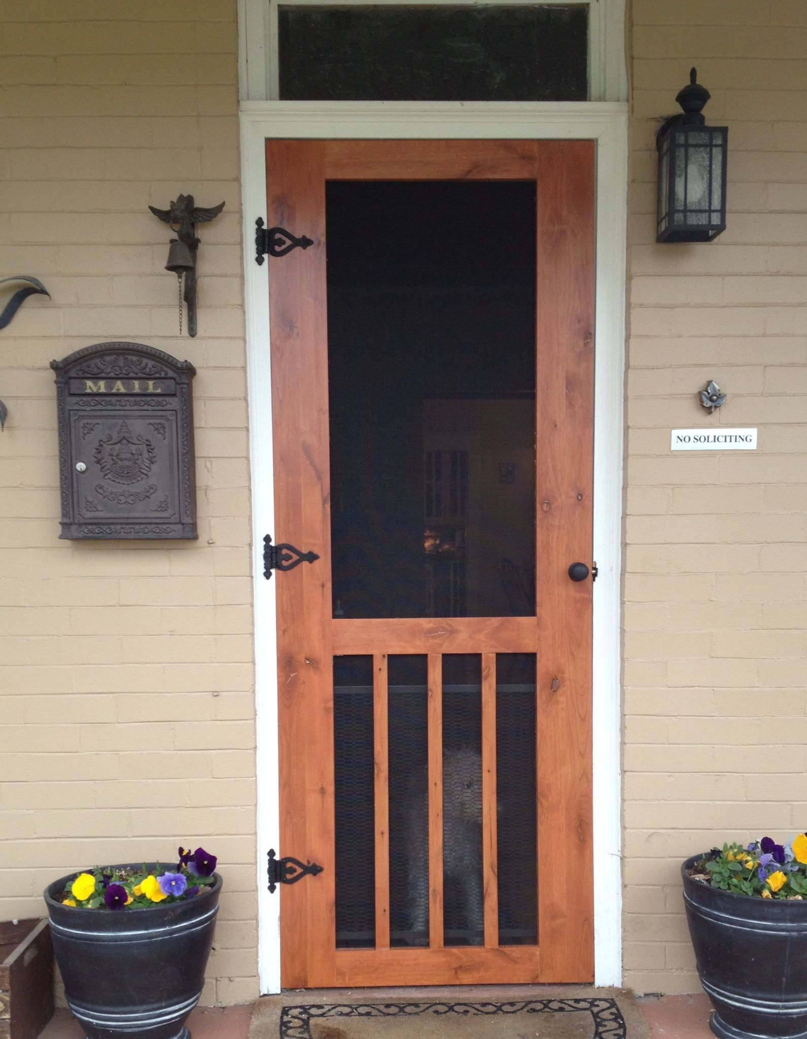 Le Meilleur Easy To Make Craftsman Style Screen Door Ideas For The Ce Mois Ci