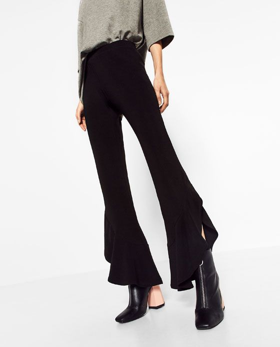 Le Meilleur Image 3 Of Flared Trousers From Zara Fashion En 2019 Ce Mois Ci