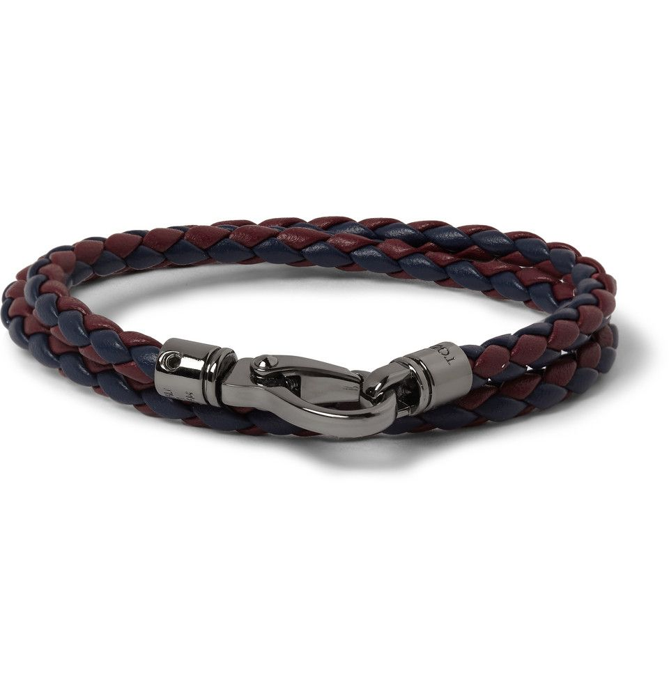 Le Meilleur Tod S Woven Leather Wrap Bracelet Mr Porter Men S Ce Mois Ci