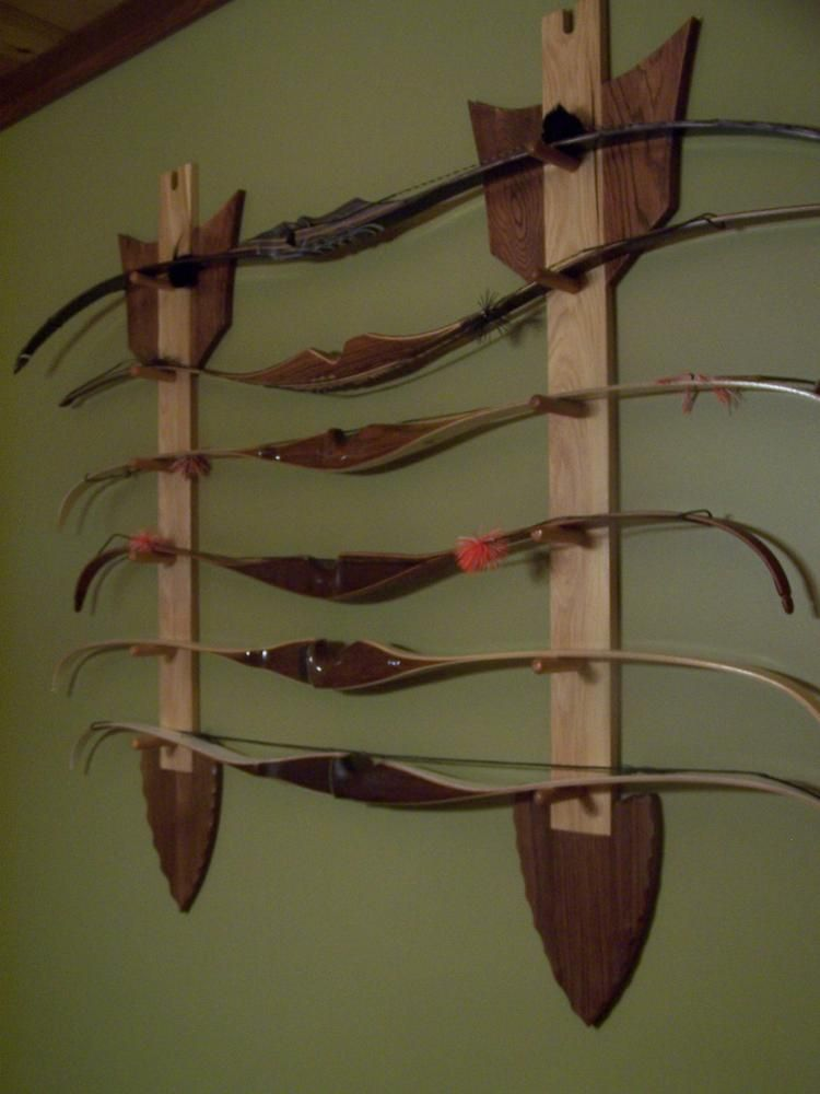 Le Meilleur Arrow Bow Rack Wow Makes A Beautiful Wall Hanging Ce Mois Ci
