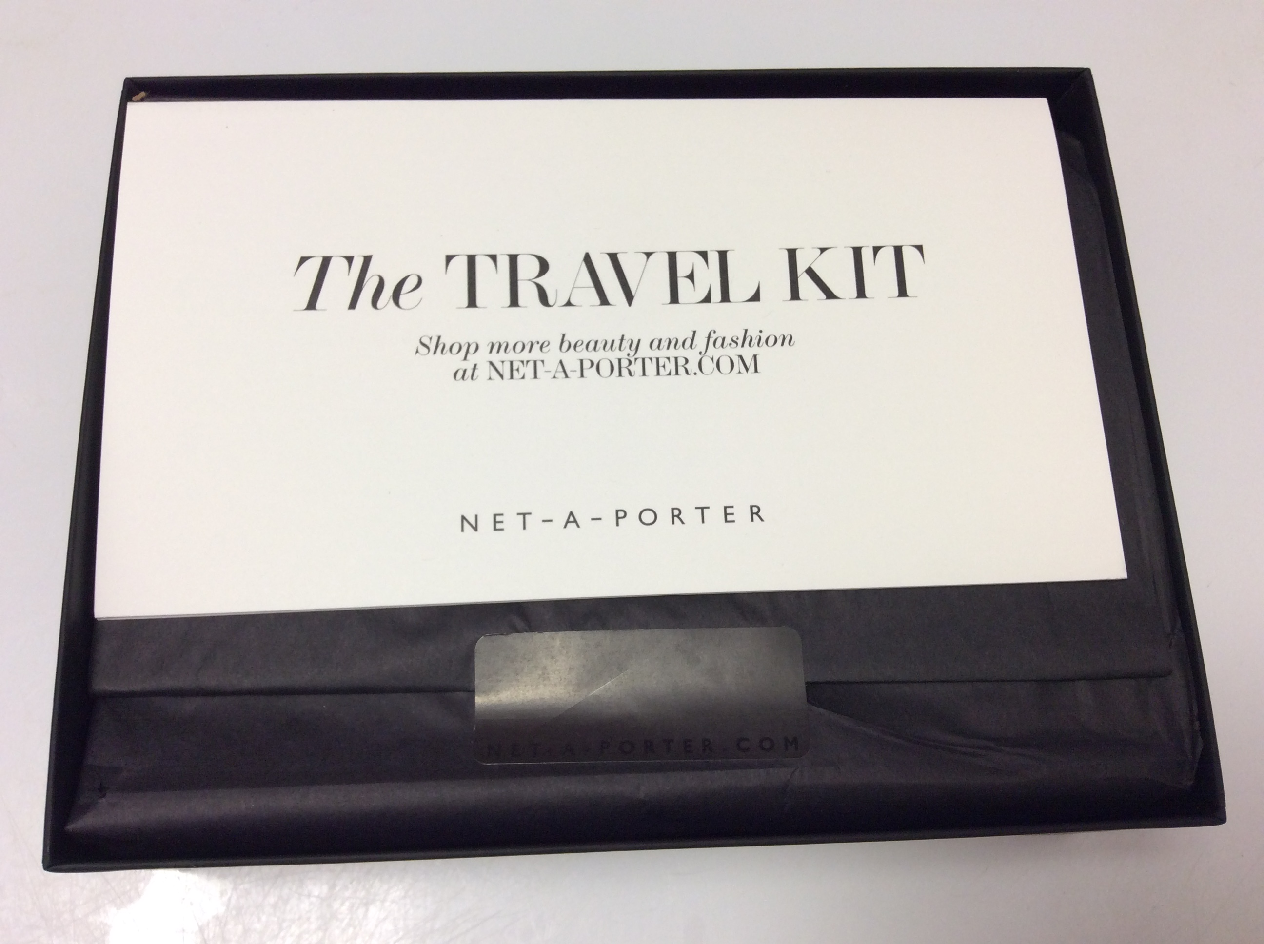 Le Meilleur Net A Porter Travel Kit Limited Edition Box Review – March Ce Mois Ci