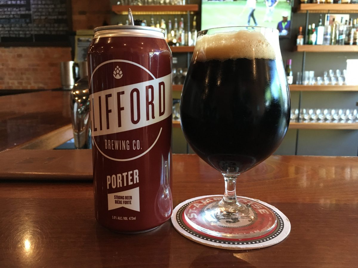 Le Meilleur Review Porter By Clifford Brewing Co The Craft Beer Ce Mois Ci