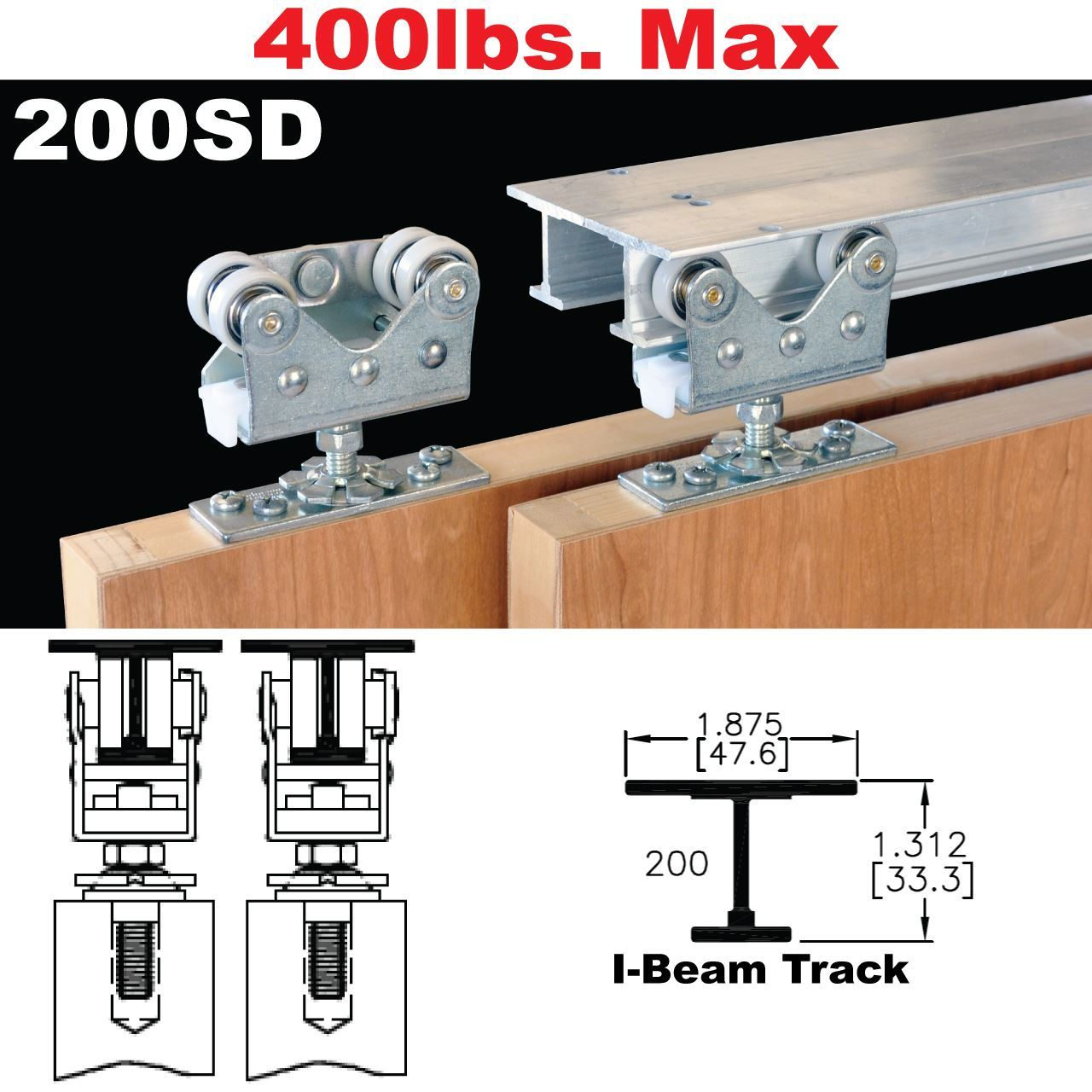 Le Meilleur Johnson Hardware 200Sd Sliding Bypass Door Hardware Ce Mois Ci