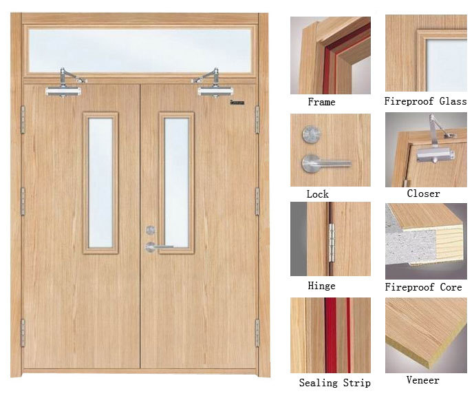 Le Meilleur Bs476 Wood Fire Rated Double Swing Doors View Fire Rated Ce Mois Ci