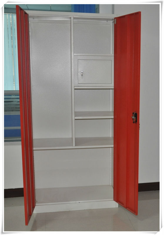 Le Meilleur Popular Design Double Door Almirah With Small Door Inside Ce Mois Ci