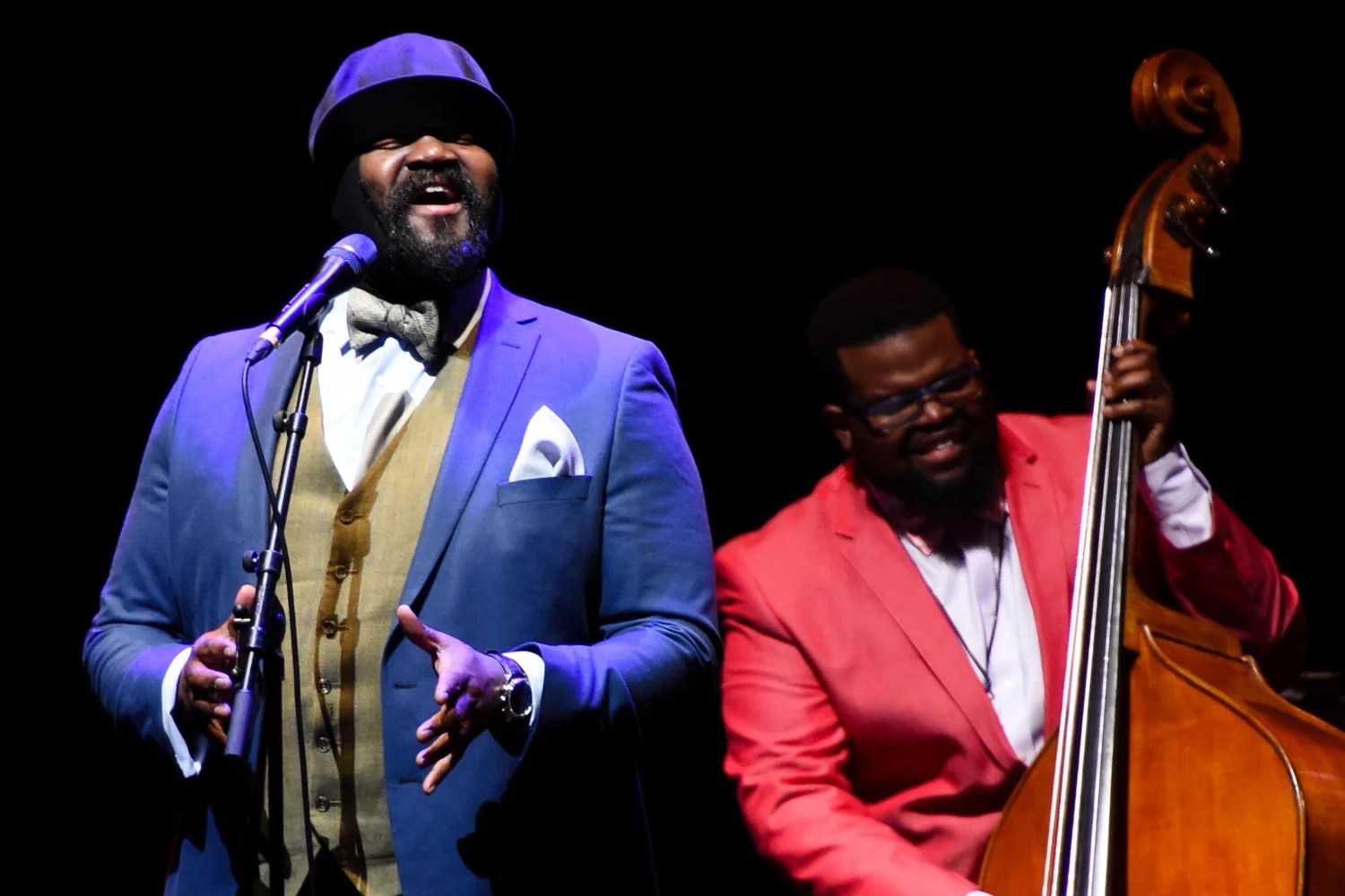 Le Meilleur Gregory Porter Tour Review He Made Hard To Sing Songs Ce Mois Ci