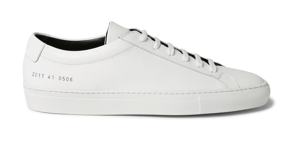 Le Meilleur The Mr Porter X Common Projects Collab Proves That Less Ce Mois Ci