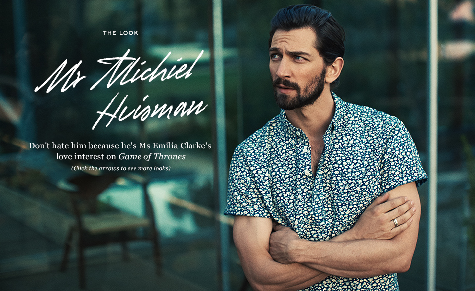 Le Meilleur Game Of Thrones Actor Michiel Huisman For Mr Porter Ce Mois Ci