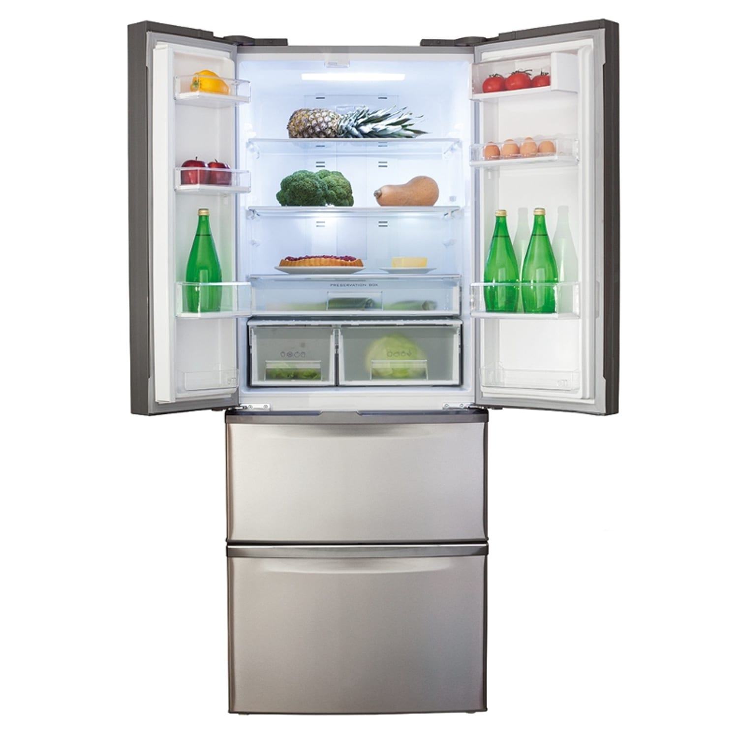 Le Meilleur Cda Pc84Sc American Two Door Fridge With Frost Free Two Ce Mois Ci