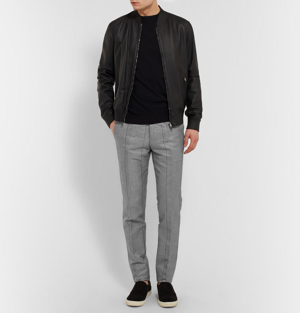 Le Meilleur Alexander Mcqueen Slim Fit Houndstooth From Mr Porter Ce Mois Ci