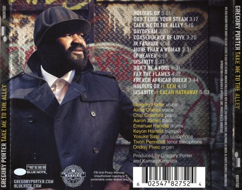 Le Meilleur Take Me To The Alley Gregory Porter Songs Reviews Ce Mois Ci