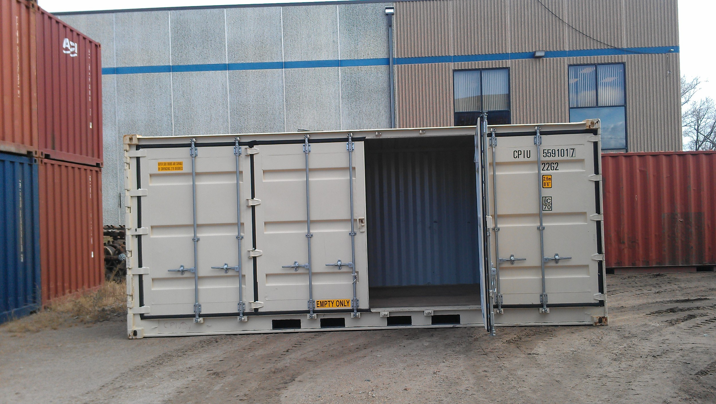 Le Meilleur Specialty Shipping Containers — Shipping Containers At A Ce Mois Ci