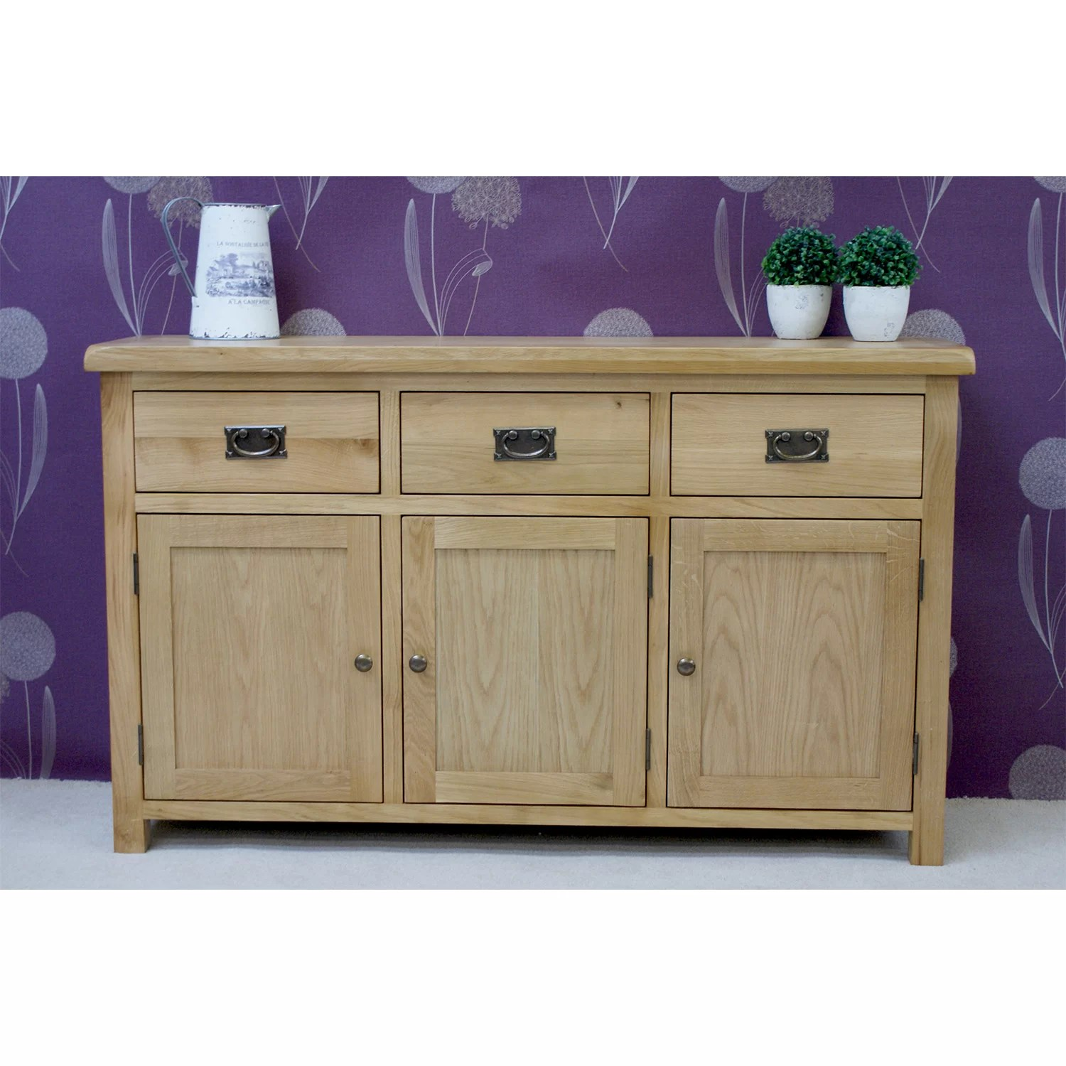 Le Meilleur Firmans Direct Farmhouse 3 Door 3 Drawer Sideboard Ce Mois Ci