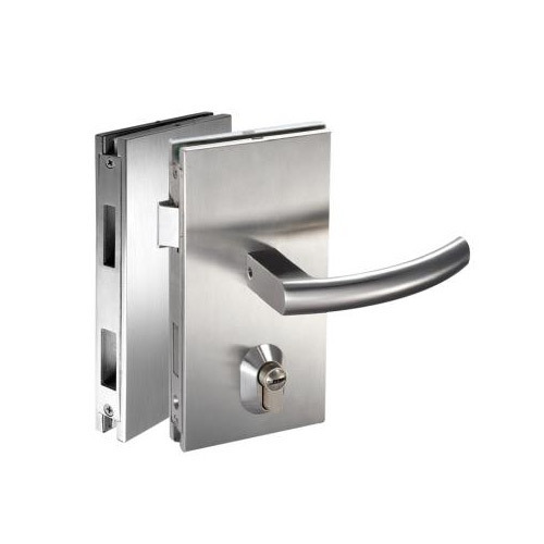 Le Meilleur Glass Door Lock With Latch Bolt Glass Door Locking System Ce Mois Ci