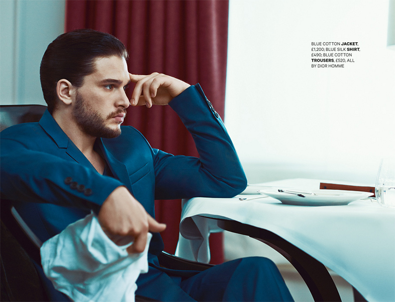 Le Meilleur Esquire Kit Harington Tomo Brejc Photographer Director Ce Mois Ci