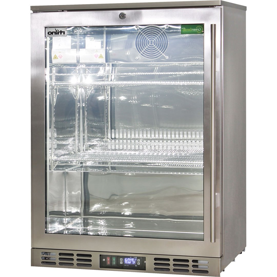 Le Meilleur Heated Glass 1 Door Commercial Stainless Steel Bar Fridge Ce Mois Ci