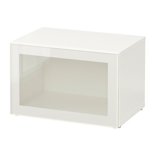 Le Meilleur Bestå Shelf Unit With Glass Door White Glassvik White Ce Mois Ci