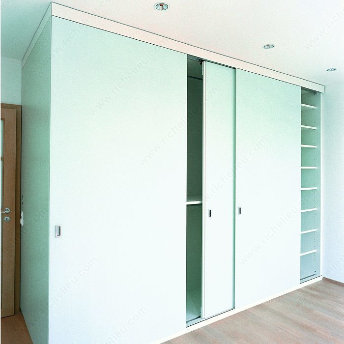 Le Meilleur System For Sliding Cabinet Doors With Flush Mounting Hawa Ce Mois Ci