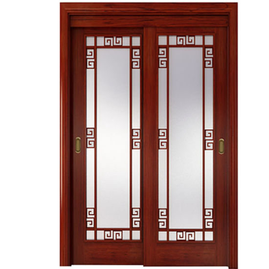 Le Meilleur Oppein Chinese Style Wood Frame Glass Sliding Door Mszy01 Ce Mois Ci
