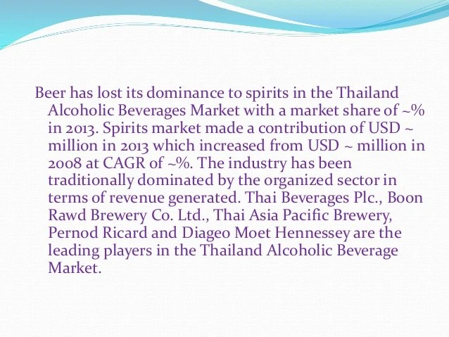 Le Meilleur Alcoholic Beverages Market Growth And Opportunities To Ce Mois Ci