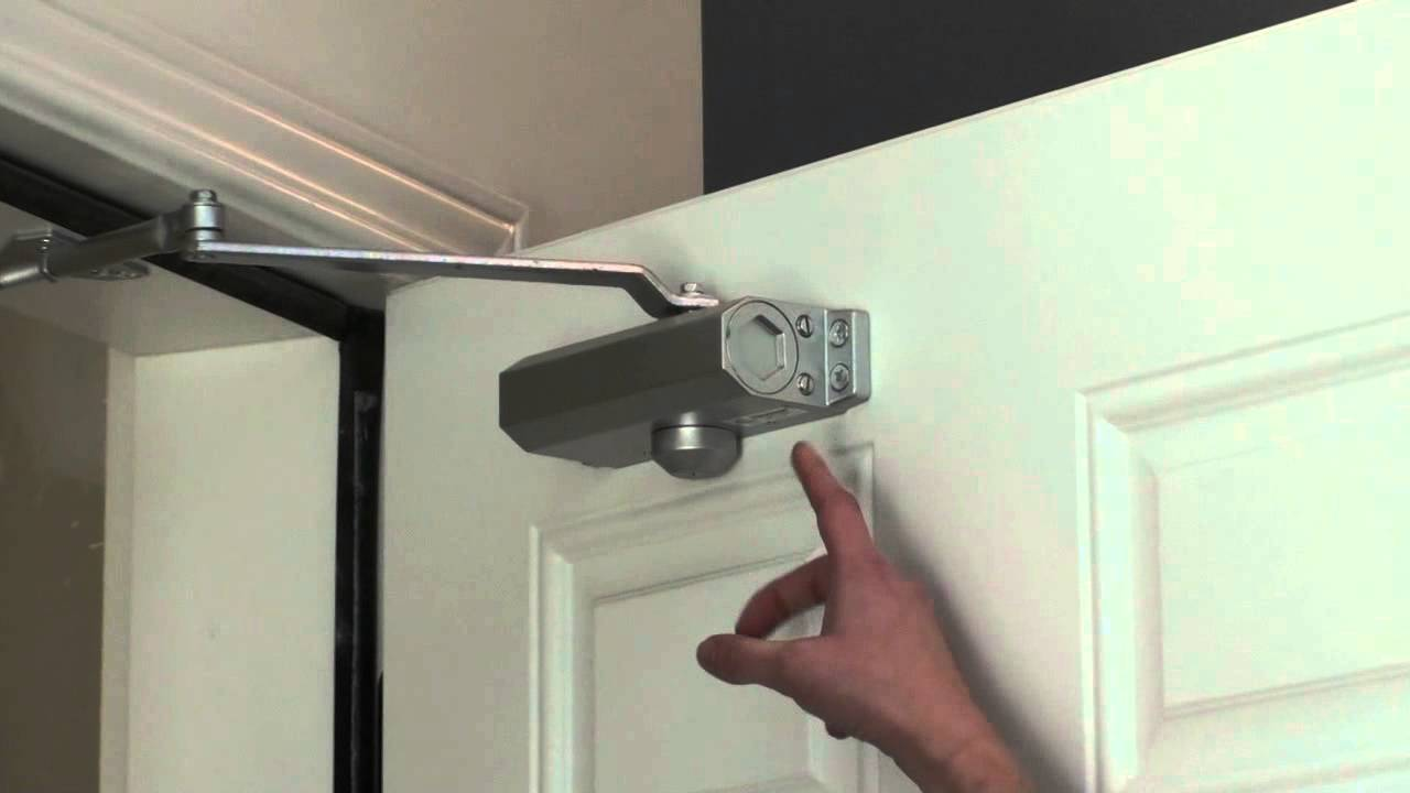 Le Meilleur Adjusting Your Door Closer Youtube Ce Mois Ci