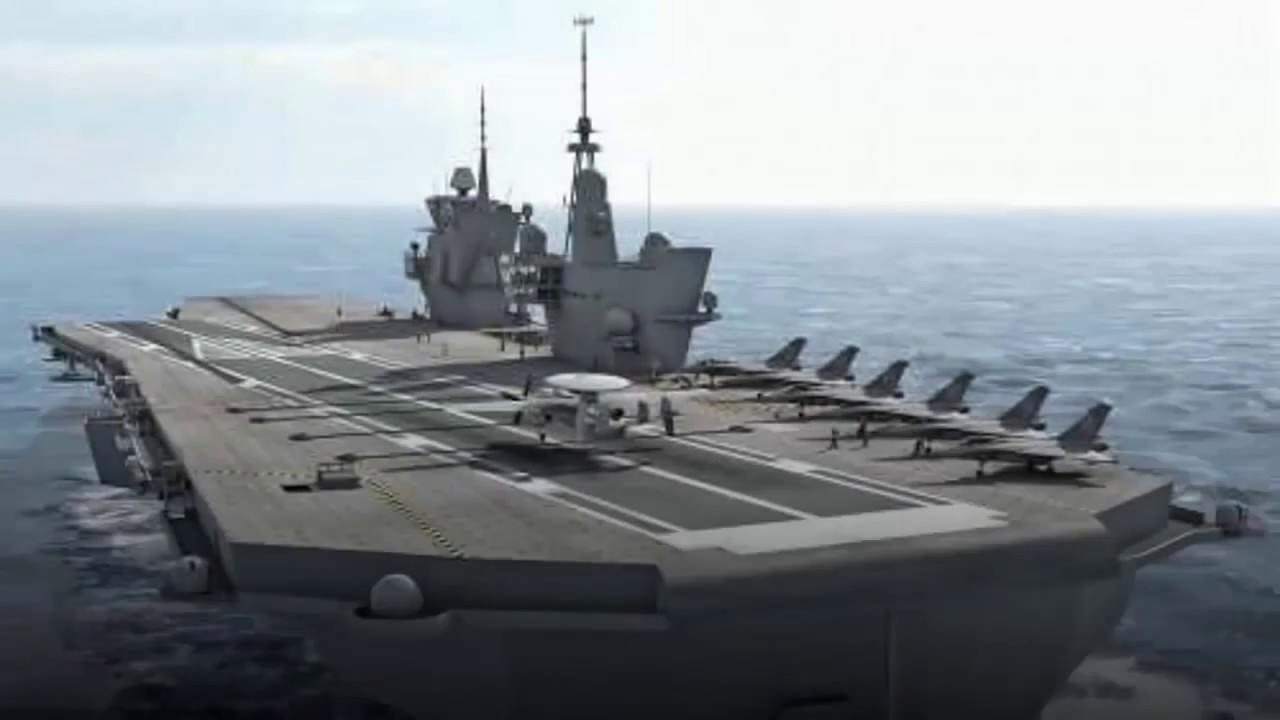 Le Meilleur Future Aircraft Carrier For French Navy 2017 Youtube Ce Mois Ci