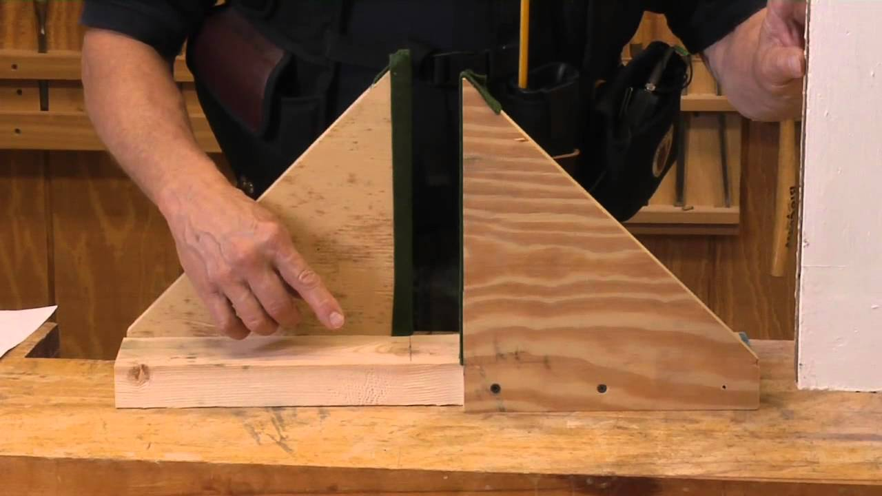 Le Meilleur How To Build A Door Buck With Scrap Materials Youtube Ce Mois Ci
