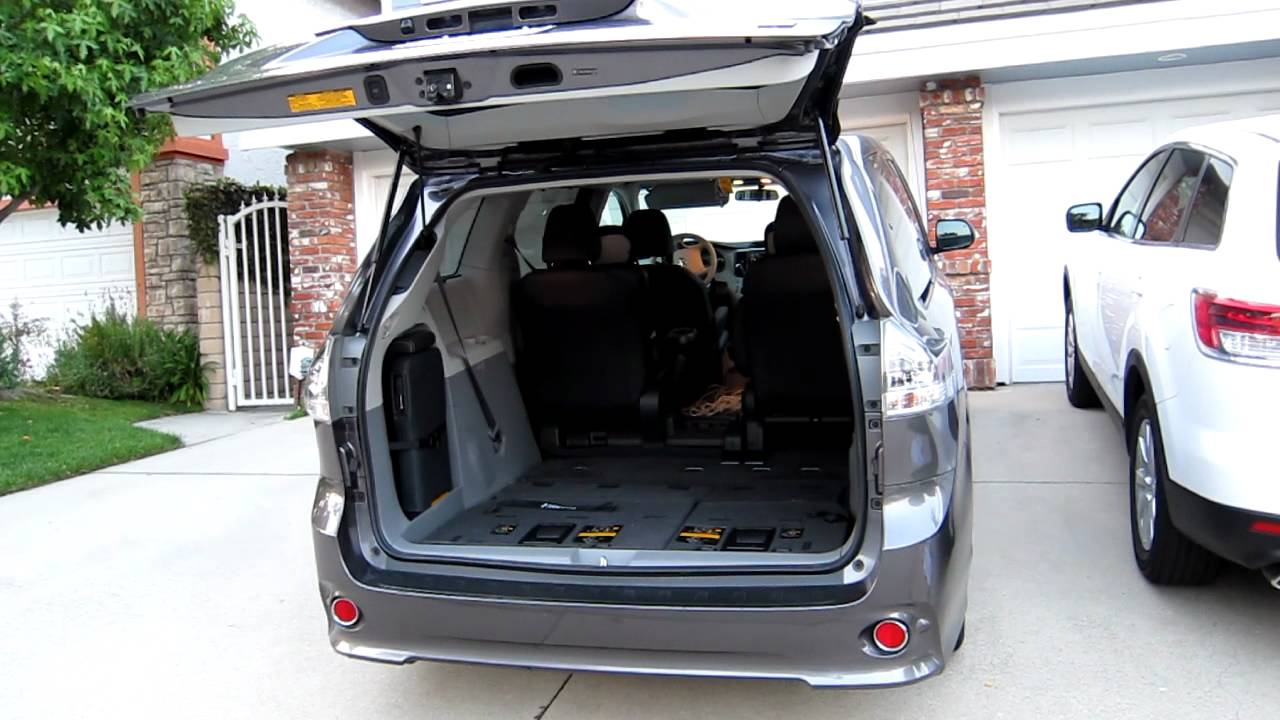 Le Meilleur 2011 Toyota Sienna Power Liftgate In Action Youtube Ce Mois Ci