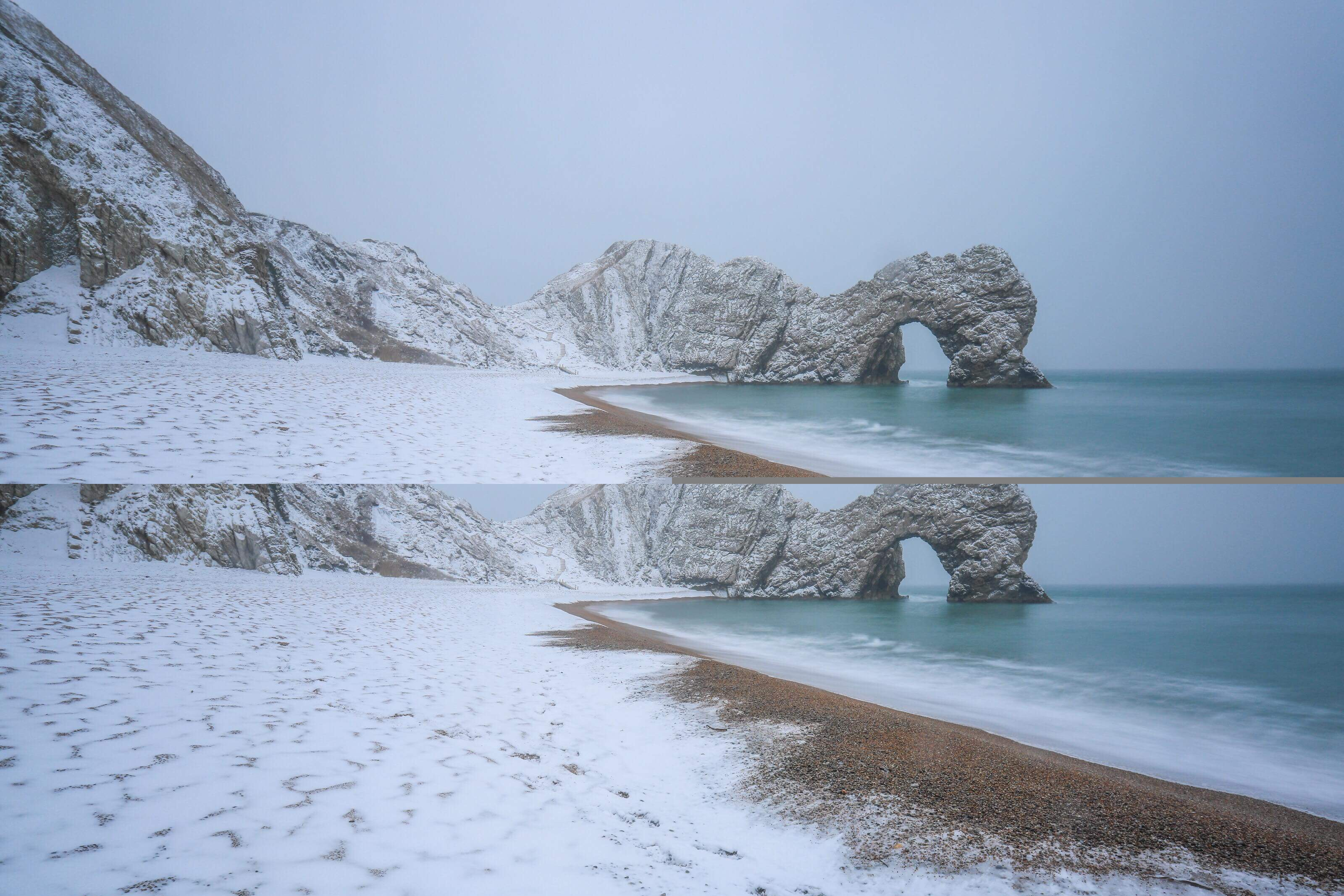 Le Meilleur Durdle Door Snow Pinners Photography Co Uk Durdle Door Snow Ce Mois Ci