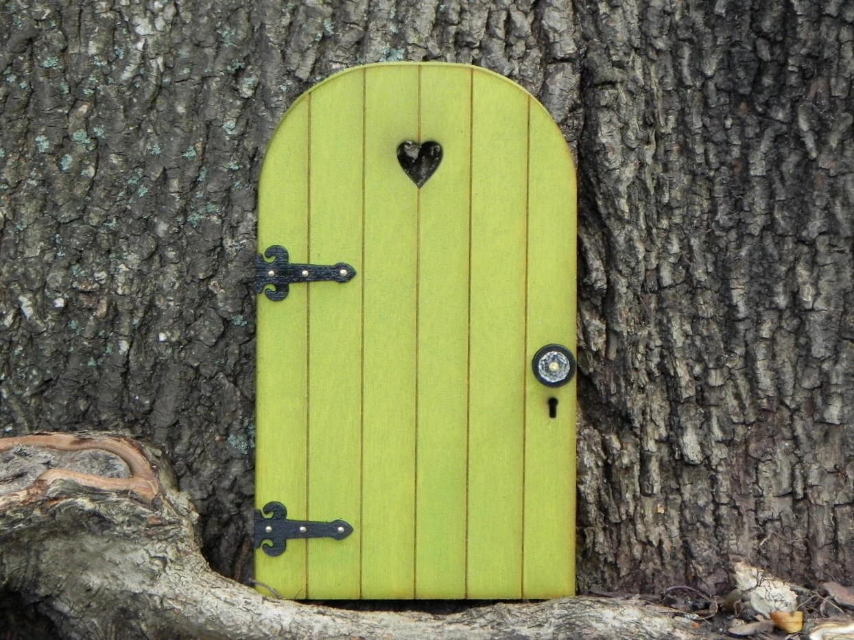 Le Meilleur Fairy Door Fairy Garden Accessories Miniature Wood Citrus Ce Mois Ci