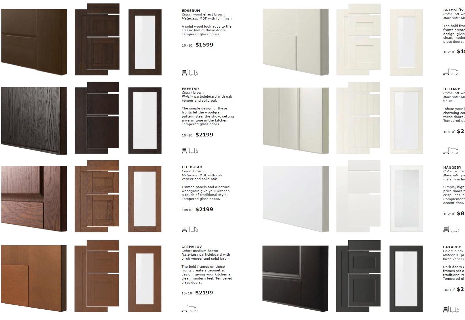 Le Meilleur A Close Look At Ikea Sektion Cabinet Doors Ce Mois Ci
