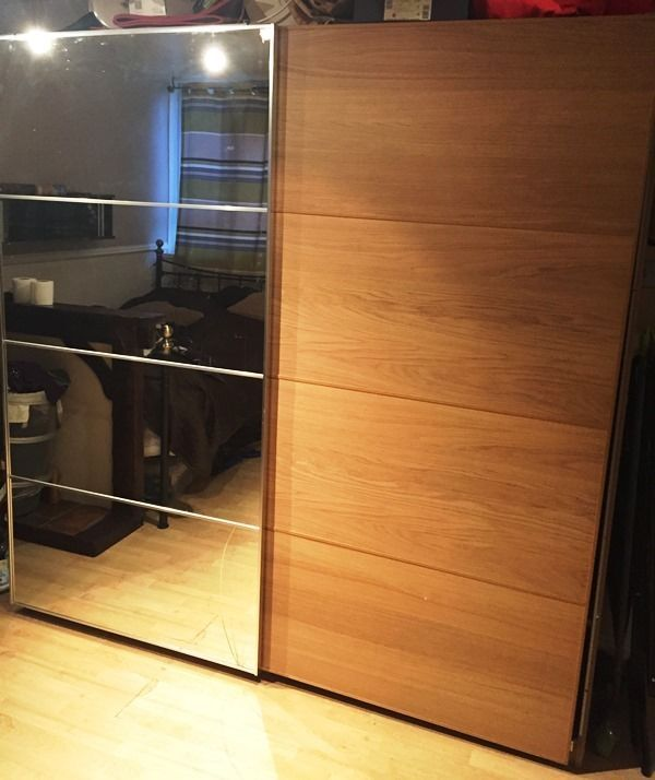 Le Meilleur Ikea Sliding Door Mirror Pax Wardrobe West London Ce Mois Ci