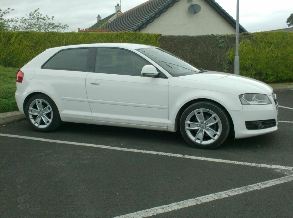 Le Meilleur 2009 Audi A3 1 9Tdi Sport White 3 Door £30 Tax Choice Ce Mois Ci
