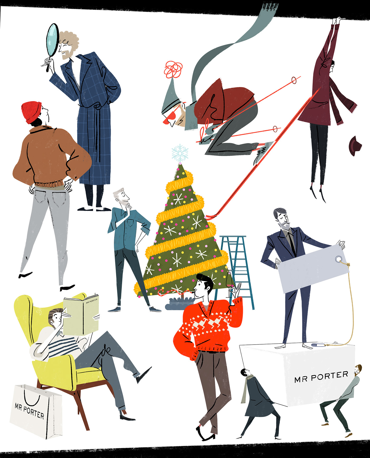 Le Meilleur Mr Porter Net A Porter Christmas Campaign 2016 On Behance Ce Mois Ci