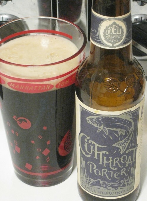 Le Meilleur Texas Beer Nerd • Cutthroat Porter By Odell Brewing Co Ce Mois Ci
