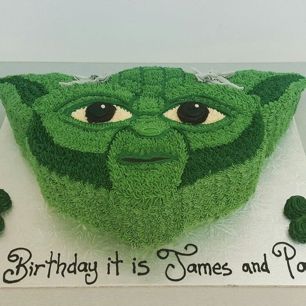 Le Meilleur Yoda Cakes Gone Wrong I Mean Why Not Give Yoda Sweet Ce Mois Ci